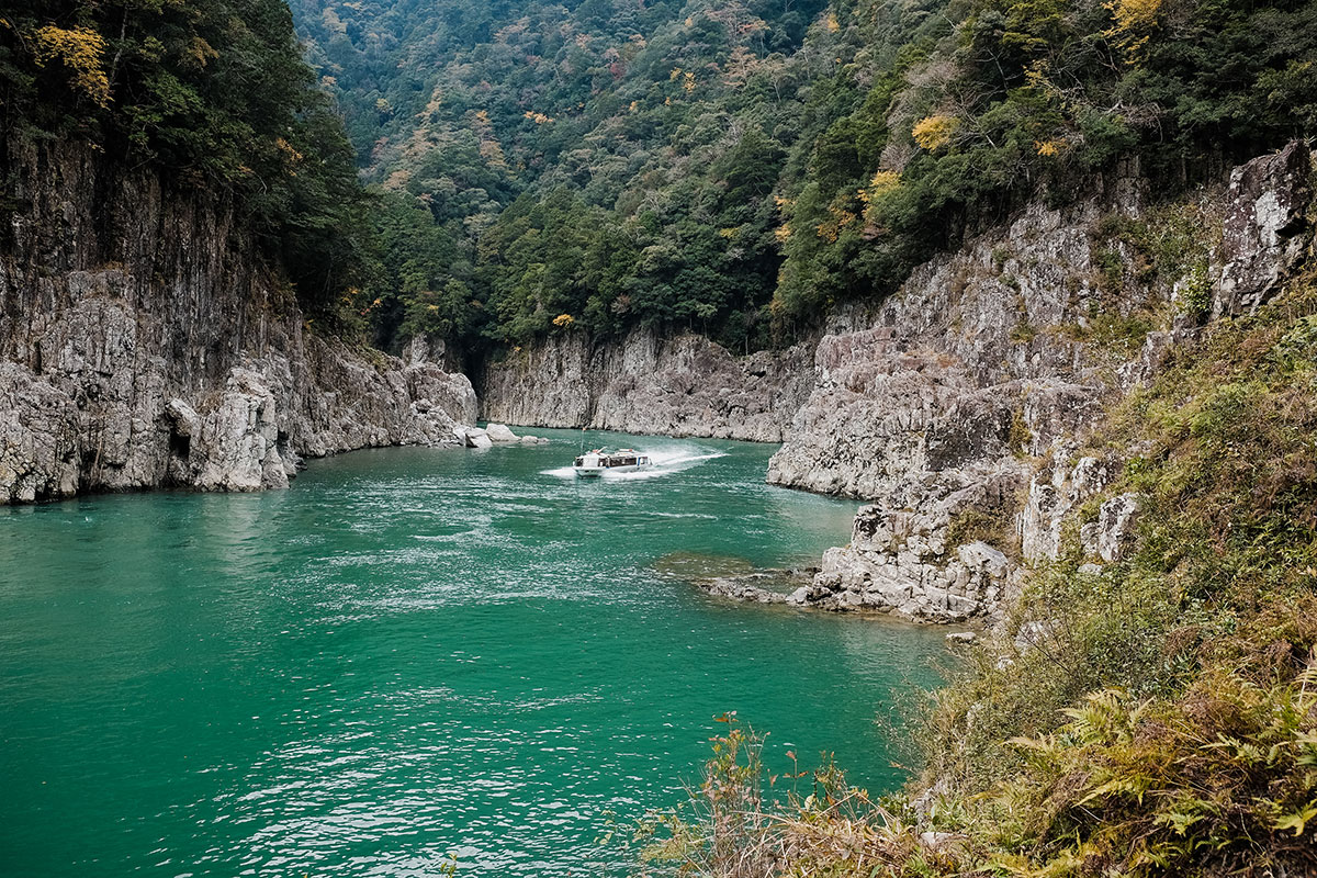 Dorokyo Water Jet ชมวิวแม่น้ำ โขดหินสวยงาม