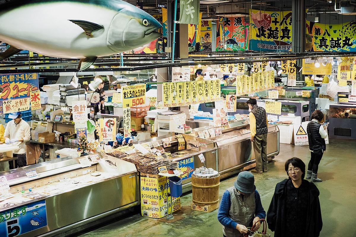ตลาดปลาโทเระโทเระอิจิบะ (Toretore Fish Market) | Shirahama
