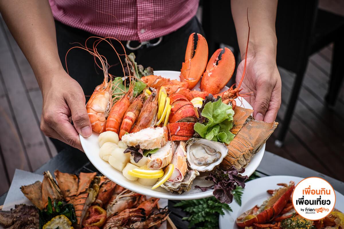 Lobster Sunday Brunch Buffet กุ้งล๊อบสเตอร์ไม่อั้น Feast, Royal Orchid Sheraton