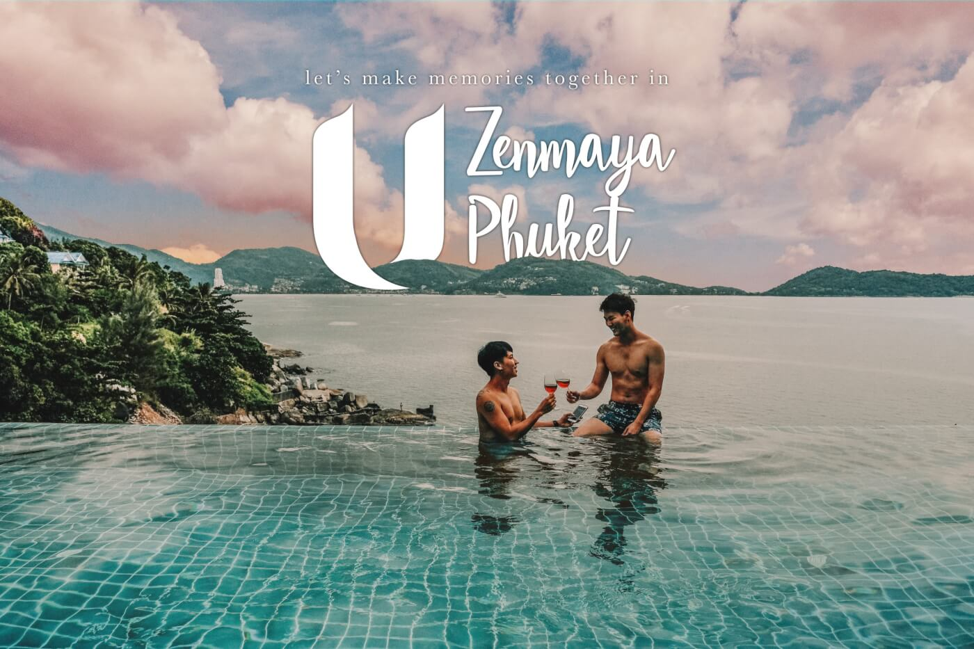 """เที่ยวภูเก็ตกับแฟน """"โรงแรม U Zenmaya Phuket รีโนเวทใหม่ปี 2019"""""""